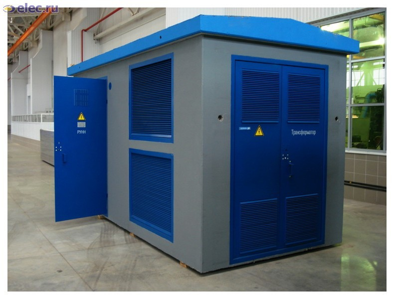 Комплектные трансформаторные подстанции (КТП)