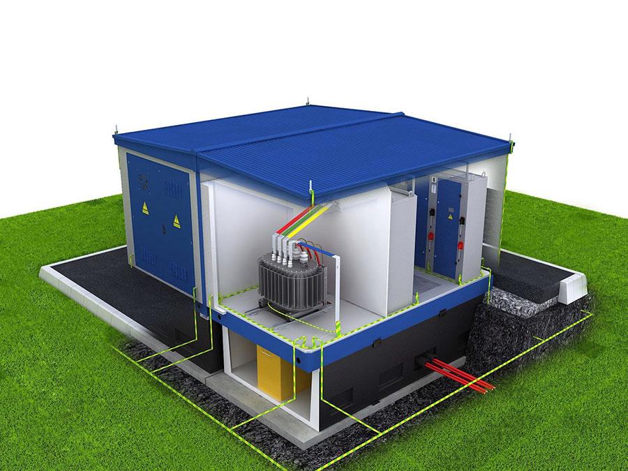 Электрификация водонапорных подстанций